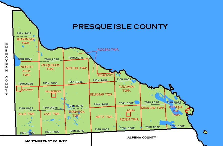 presque isle county singles Presque isle county road commission printable permits: (please feel free to contact us with questions and/or concerns regarding the.